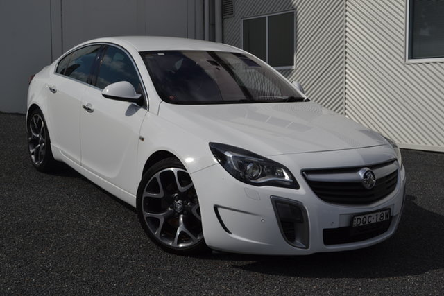 Used Holden Insignia GA MY16 VXR AWD, 2015 Holden Insignia GA MY16 VXR AWD White 6 Speed Sports Automatic Sedan