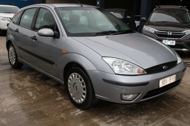 Used Ford Focus LR CL West Footscray, 2003 Ford Focus LR CL Silver 5 Speed Manual Hatchback