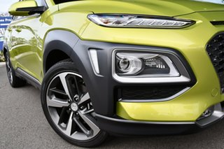 2020 Hyundai Kona OS.3 MY20 Highlander 2WD Surfy Blue Metallic Paint 6 Speed Sports Automatic Wagon.