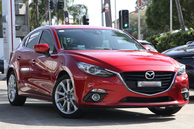 Used Mazda 3 BM SP25 GT, 2014 Mazda 3 BM SP25 GT 6 Speed Automatic Hatchback