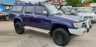 2003 Toyota Hilux KZN165R MY02 SR5 Blue 5 Speed Manual Utility.