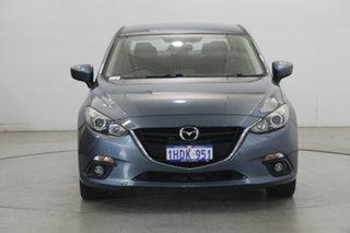 2014 Mazda 3 BM5238 SP25 SKYACTIV-Drive Reflex Blue 6 Speed Sports Automatic Sedan.