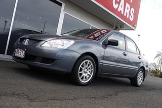 2005 Mitsubishi Lancer CH MY06 ES Grey 5 Speed Manual Sedan.