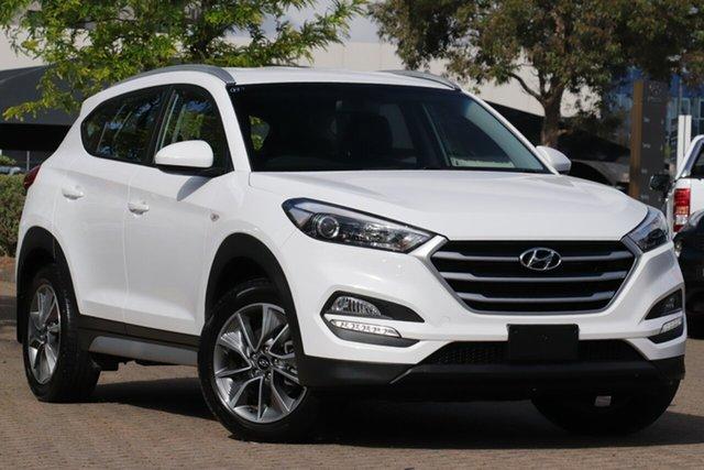 Used Hyundai Tucson TL MY18 Active X (FWD), 2018 Hyundai Tucson TL MY18 Active X (FWD) Polar White 6 Speed Automatic Wagon