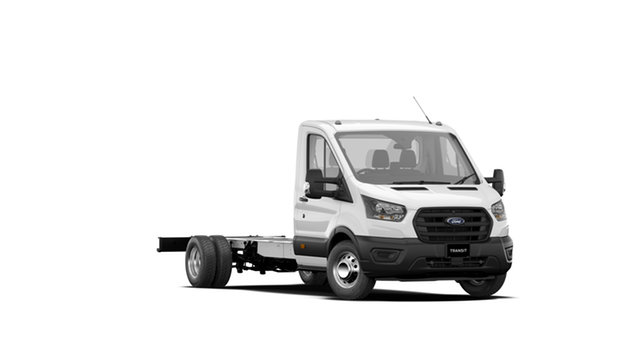 New Ford Transit VO MY21.25 430e (RWD) DRW Townsville, 2021 Ford Transit VO MY21.25 430e (RWD) DRW Frozen White 10 Speed Automatic Cab Chassis