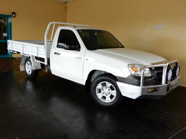 Used Mazda BT-50  B2500 DX, 2008 Mazda BT-50 B2500 DX White 5 Speed Manual Cab Chassis