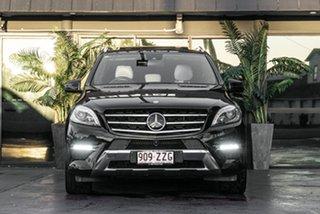 2015 Mercedes-Benz M-Class W166 MY805 ML350 BlueTEC 7G-Tronic + Black 7 Speed Sports Automatic Wagon.