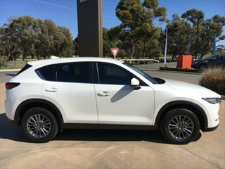 2017 Mazda CX-5 KF2W7A Maxx SKYACTIV-Drive FWD Sport Snowflake White Pearl 6 Speed Sports Automatic.