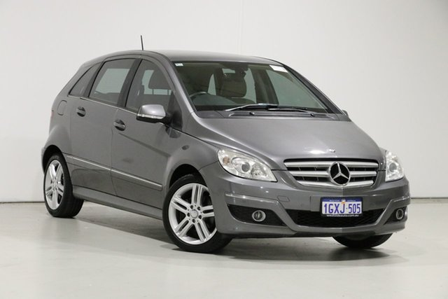 Used Mercedes-Benz B200 245 MY11 , 2011 Mercedes-Benz B200 245 MY11 Grey Continuous Variable Hatchback