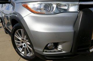 2015 Toyota Kluger GSU55R Grande (4x4) Silver 6 Speed Automatic Wagon.