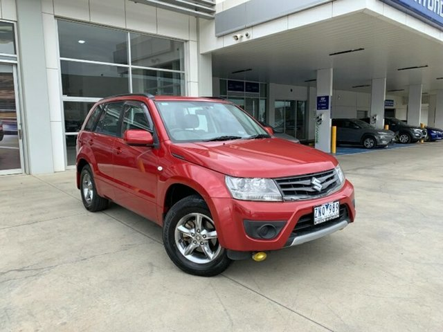 Used Suzuki Grand Vitara JB MY13 Urban 2WD Melton, 2013 Suzuki Grand Vitara JB MY13 Urban 2WD Red 4 Speed Automatic Wagon