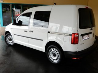2017 Volkswagen Caddy 2K MY17 TSI220 White 7 Speed Auto Direct Shift Van.
