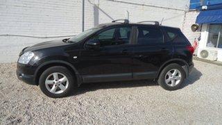2009 Nissan Dualis J10 MY2009 ST AWD Black 6 Speed Manual Hatchback.