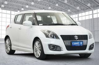 2015 Suzuki Swift FZ MY15 Sport White 7 Speed Constant Variable Hatchback.