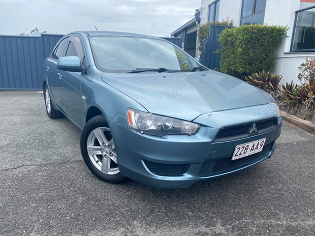 Used Mitsubishi Lancer CJ MY09 ES Sportback, 2008 Mitsubishi Lancer CJ MY09 ES Sportback Blue 6 Speed Constant Variable Hatchback