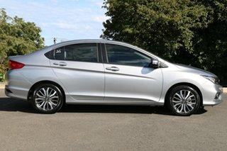 2017 Honda City GM MY18 VTi-L Lunar Silver 7 Speed Constant Variable Sedan
