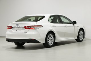 2019 Toyota Camry AXVH71R Ascent (Hybrid) White Continuous Variable Sedan