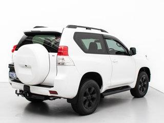 2009 Toyota Landcruiser Prado KDJ155R SX (4x4) White 5 Speed Sequential Auto Wagon