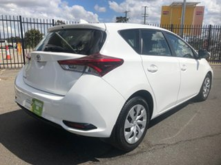 2015 Toyota Corolla ZRE172R Ascent White 7 Speed CVT Auto Sequential Sedan.