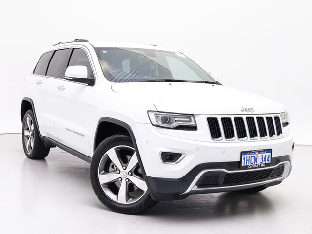 Used Jeep Grand Cherokee WK MY15 Limited (4x4), 2015 Jeep Grand Cherokee WK MY15 Limited (4x4) White 8 Speed Automatic Wagon