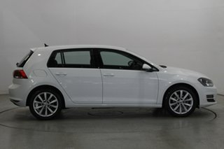 2017 Volkswagen Golf VII MY17 110TSI DSG Highline White 7 Speed Sports Automatic Dual Clutch