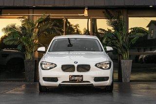2013 BMW 116i F20 116i White 8 Speed Sports Automatic Hatchback.