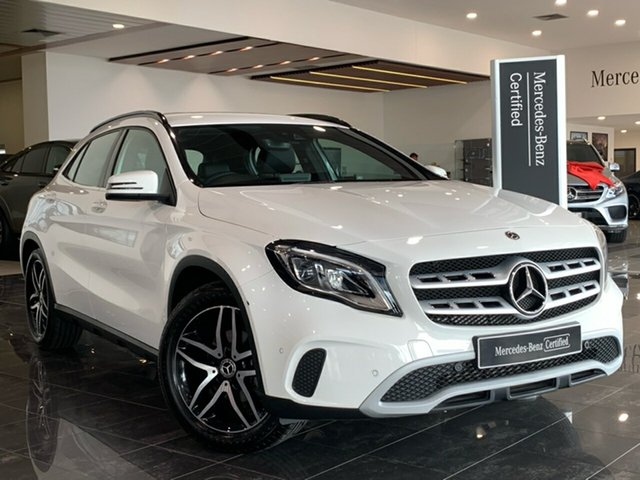 Used Mercedes-Benz GLA-Class X156 809+059MY GLA180 DCT Hervey Bay, 2019 Mercedes-Benz GLA-Class X156 809+059MY GLA180 DCT White 7 Speed Sports Automatic Dual Clutch