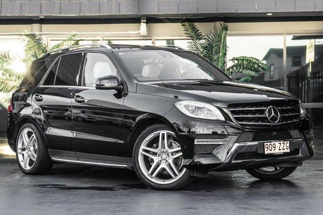 Used Mercedes-Benz M-Class W166 MY805 ML350 BlueTEC 7G-Tronic +, 2015 Mercedes-Benz M-Class W166 MY805 ML350 BlueTEC 7G-Tronic + Black 7 Speed Sports Automatic Wagon
