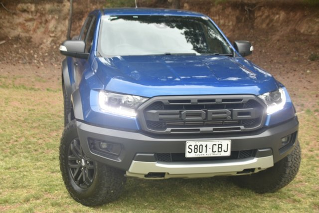 Used Ford Ranger PX MkIII 2019.00MY Raptor St Marys, 2019 Ford Ranger PX MkIII 2019.00MY Raptor Blue 10 Speed Sports Automatic Double Cab Pick Up