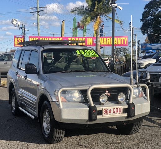 Used Mitsubishi Pajero NM MY2002 GLS, 2002 Mitsubishi Pajero NM MY2002 GLS Silver 5 Speed Manual Wagon