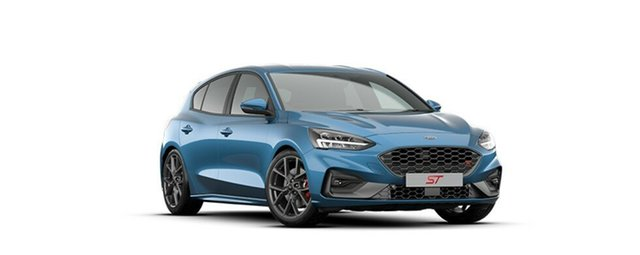 New Ford Focus SA 2020.25MY ST, 2020 Ford Focus SA 2020.25MY ST Ford Performance Blue 7 Speed Automatic Hatchback