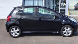 2006 Toyota Yaris NCP91R YRX Black 5 Speed Manual Hatchback.