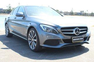 2016 Mercedes-Benz C-Class W205 807MY C250 d 7G-Tronic + Grey 7 Speed Sports Automatic Sedan.