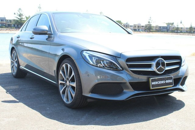 Used Mercedes-Benz C-Class W205 807MY C250 d 7G-Tronic +, 2016 Mercedes-Benz C-Class W205 807MY C250 d 7G-Tronic + Grey 7 Speed Sports Automatic Sedan