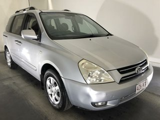 2007 Kia Carnival VQ MY07 EX Silver 4 Speed Sports Automatic Wagon.