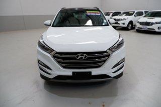 2017 Hyundai Tucson TLe MY17 Highlander D-CT AWD White 7 Speed Sports Automatic Dual Clutch Wagon.