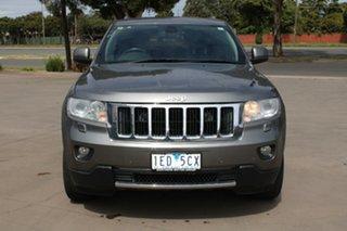 2012 Jeep Grand Cherokee WK MY12 Limited (4x4) Grey 5 Speed Automatic Wagon.