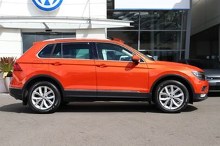 2016 Volkswagen Tiguan 5N MY17 140TDI DSG 4MOTION Highline Orange 7 Speed.