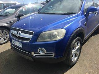 2008 Holden Captiva CG MY08 LX 60th Anniversary (4x4) Blue 5 Speed Automatic Wagon.
