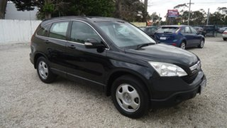 2007 Honda CR-V RE MY2007 4WD Black 5 Speed Automatic Wagon.