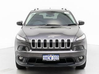 2015 Jeep Cherokee KL MY15 Longitude (4x4) Grey 9 Speed Automatic Wagon.