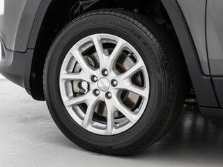 2015 Jeep Cherokee KL MY15 Longitude (4x4) Grey 9 Speed Automatic Wagon