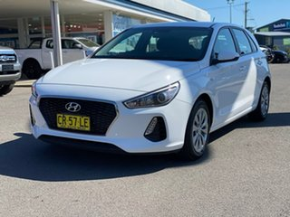 2018 Hyundai i30 Go White Sports Automatic Hatchback