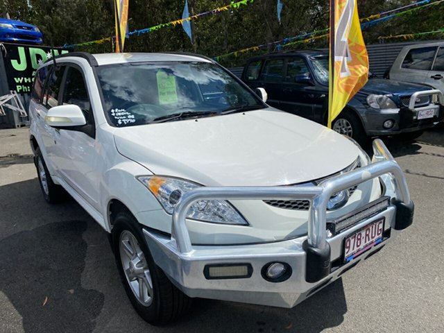 Used Great Wall X240 CC6461KY MY11 (4x4) Morayfield, 2011 Great Wall X240 CC6461KY MY11 (4x4) White 5 Speed Manual Wagon