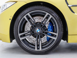 2014 BMW M4 F83 Yellow 7 Speed Auto Dual Clutch Convertible