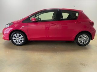 2016 Toyota Yaris NCP130R MY15 Ascent Pink 4 Speed Automatic Hatchback