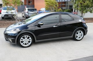 2011 Honda Civic 8th Gen MY10 SI Black 5 speed Automatic Hatchback