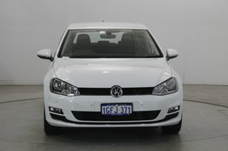 2017 Volkswagen Golf VII MY17 110TSI DSG Highline White 7 Speed Sports Automatic Dual Clutch.