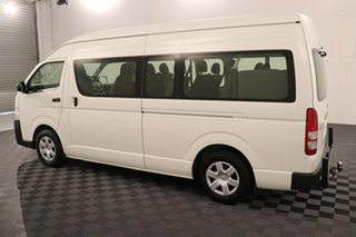 2015 Toyota HiAce TRH223R MY14 Commuter High Roof Super LWB French Vanilla 4 speed Automatic Bus