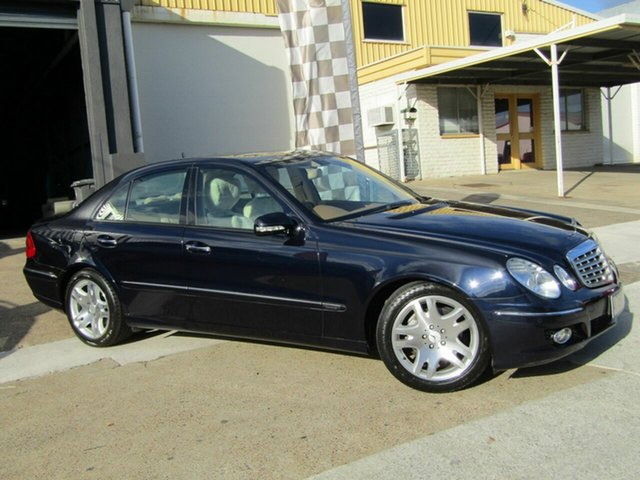 Used Mercedes-Benz E-Class W211 MY07 E350 Elegance Moorooka, 2007 Mercedes-Benz E-Class W211 MY07 E350 Elegance Blue 7 Speed Automatic Sedan
